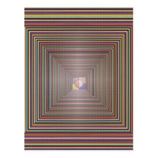 無限宇宙治療エネルギートンネルの源の霊気 ポストカード