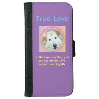 無限愛電話箱の財布のスタイル iPhone 6/6S ウォレットケース