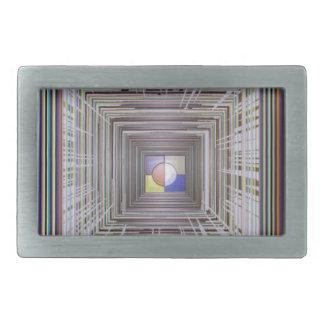 無限永遠の宇宙の宇宙宇宙エネルギーおもしろい 長方形ベルトバックル