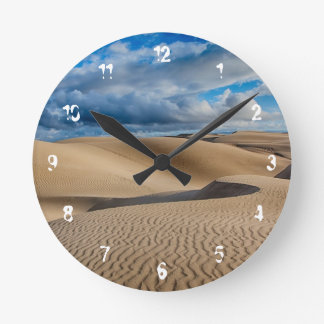 無限砂丘 ラウンド壁時計