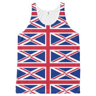 無限英国国旗 オールオーバープリントタンクトップ