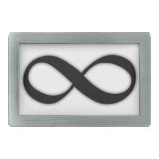 無限 長方形ベルトバックル