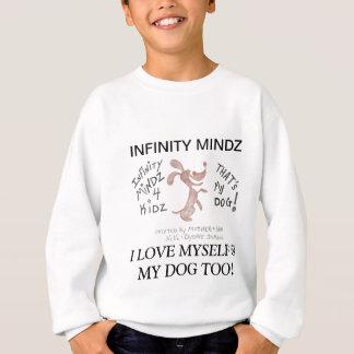 """無限Mindz """"4KIDZの小犬の世界 スウェットシャツ"""