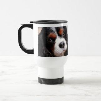 無頓着なチャールズ王スパニエル犬のお母さん トラベルマグ