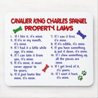 無頓着なチャールズ王スパニエル犬の特性の法律2 マウスパッド