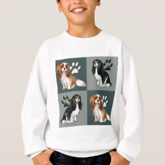 無頓着なチャールズ王スパニエル犬 スウェットシャツ