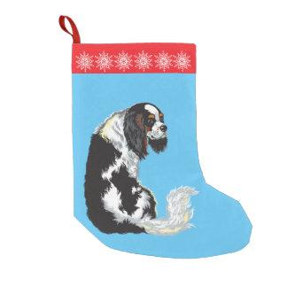 無頓着なチャールズ王スパニエル犬 スモールクリスマスストッキング