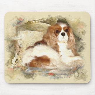 無頓着なチャールズ王スパニエル犬 マウスパッド
