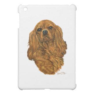 無頓着なチャールズ王スパニエル犬 iPad MINI カバー