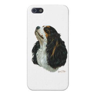 無頓着なチャールズ王スパニエル犬 iPhone 5 ケース