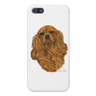 無頓着なチャールズ王スパニエル犬 iPhone 5 CASE