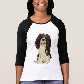 無頓着なチャールズ王スパニエル犬 Tシャツ