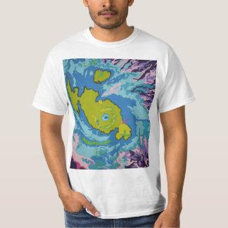 無題のハリケーンのTシャツ Tシャツ