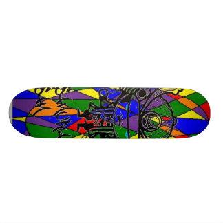 無題 21.6CM オールドスクールスケートボードデッキ