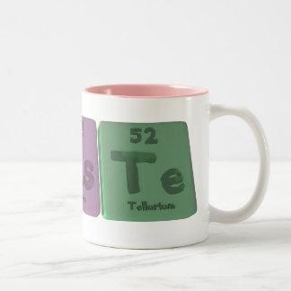 無駄WようにTeタングステンヒ素Tellurium.png ツートーンマグカップ