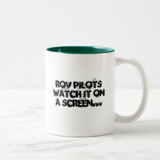 無骨者のための仕事- ROV ツートーンマグカップ