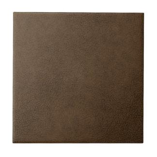 焦茶の革質パターン背景 タイル