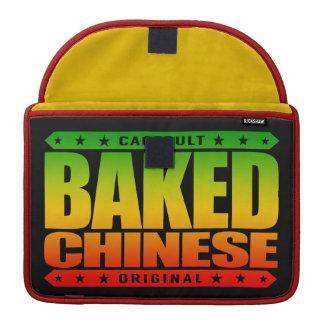焼いたな中国語-私は巧妙なドラゴンのチェーサー、ラスタです MacBook PROスリーブ