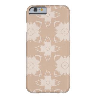 焼かれたカシュー花パターン電話箱 BARELY THERE iPhone 6 ケース
