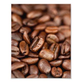 焼かれたコーヒー豆 フォトプリント
