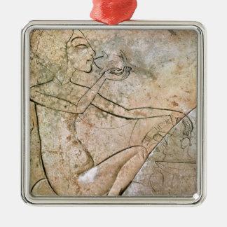 焼ける食べている王女をdepicingレリーフ、浮き彫り メタルオーナメント
