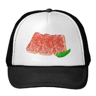 焼肉カルビ メッシュ帽子