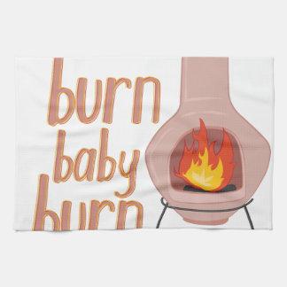 焼跡のベビーの焼跡 キッチンタオル