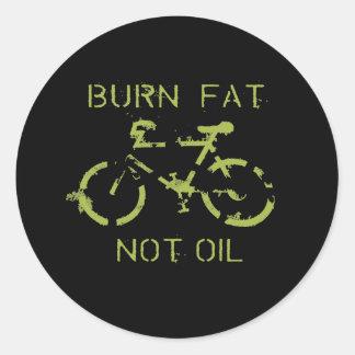 焼跡の脂肪ない油 ラウンドシール