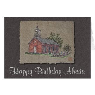 煉瓦国教会 カード