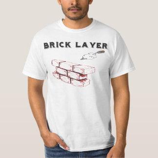 煉瓦層- BAC -煉瓦工の連合 Tシャツ