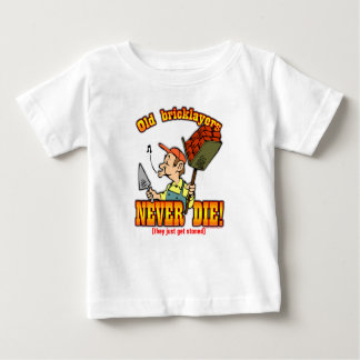 煉瓦工 ベビーTシャツ