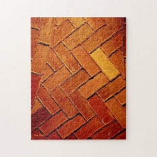 「煉瓦抽象的な」ジグソーパズル ジグソーパズル