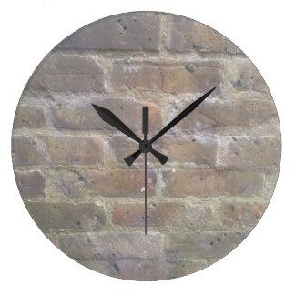 煉瓦積みの時計 ラージ壁時計
