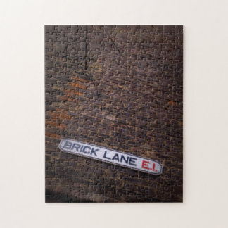 煉瓦車線-道路標識-ロンドン-パズル ジグソーパズル