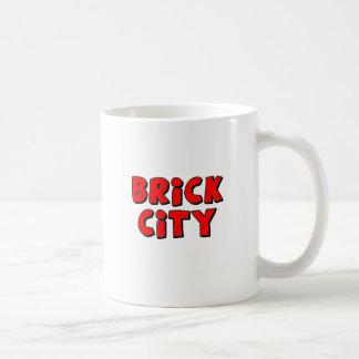 煉瓦都市は私のMinifigをカスタマイズ コーヒーマグカップ