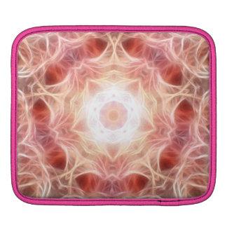 煙のピンクのiPadの人力車の袖 iPadスリーブ