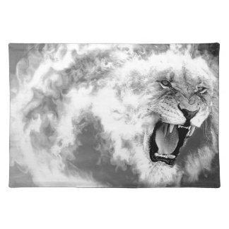 煙のライオン ランチョンマット