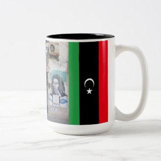 煙の店ベンガジリビア ツートーンマグカップ