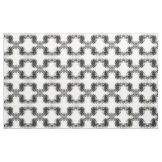 煙の目の錯覚の大理石のペンキの白黒 ファブリック