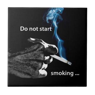 …煙り始めないで下さい タイル