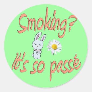 煙ること-それはそうpasséです ラウンドシール