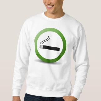 煙ること スウェットシャツ