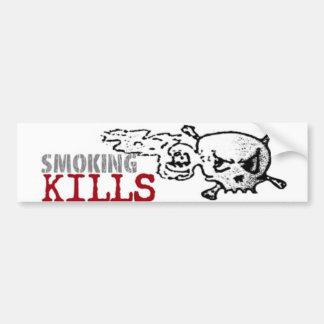 煙る殺害のバンパーステッカー バンパーステッカー