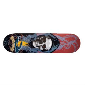 煙る熱いスケートボード スケートボード