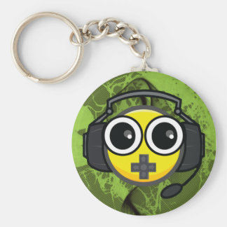 煙る緑のゲーマーEEKit Keychain キーホルダー