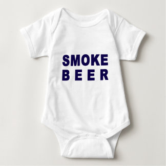 煙ビール ベビーボディスーツ