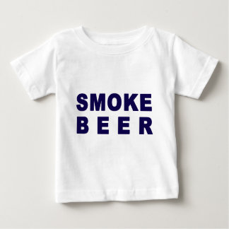 煙ビール ベビーTシャツ