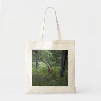 煙山のバッグの木びき台 トートバッグ