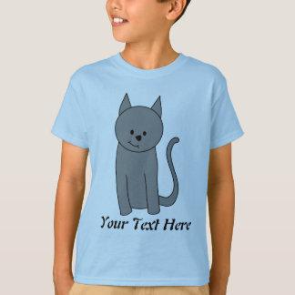 煙色猫の漫画 Tシャツ