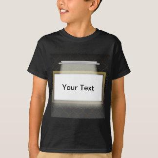 照らされた空フレーム Tシャツ